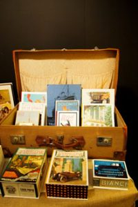 Homo Faber - esposizione in valigia