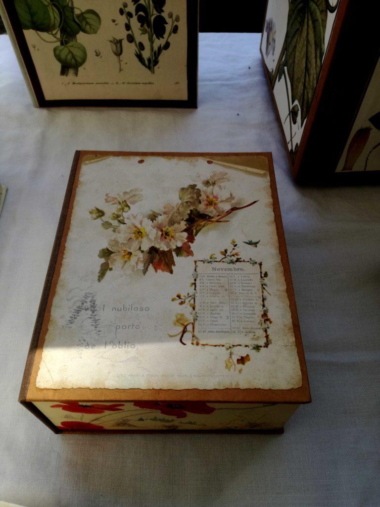 Homo Faber - scatola in legno e cartone